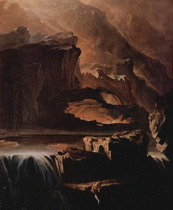 John Martin 'Sadak in Search of the Waters of Oblivion' (1812)