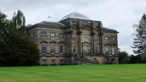 Kedleston Hall from Adam's Long Walk