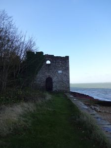The Bathing House at Norris Castle is no longer suited to that purpose
