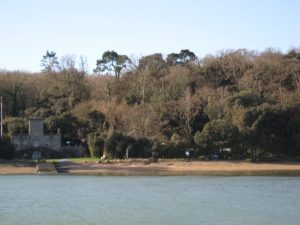 Queen Victoria copied the sea wall at Norris when she bought Osborne House, next door.